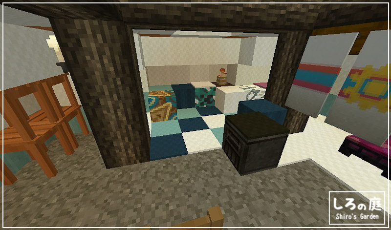 Minecraft,build,interior