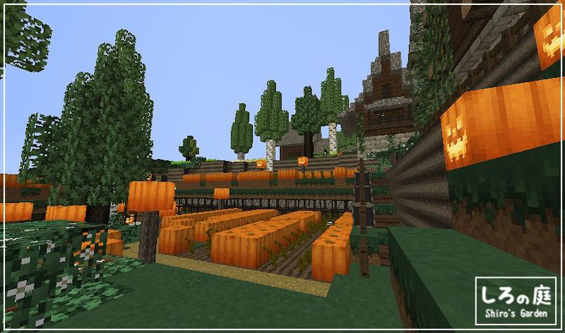 build,pumpkin, bioms o' plenty