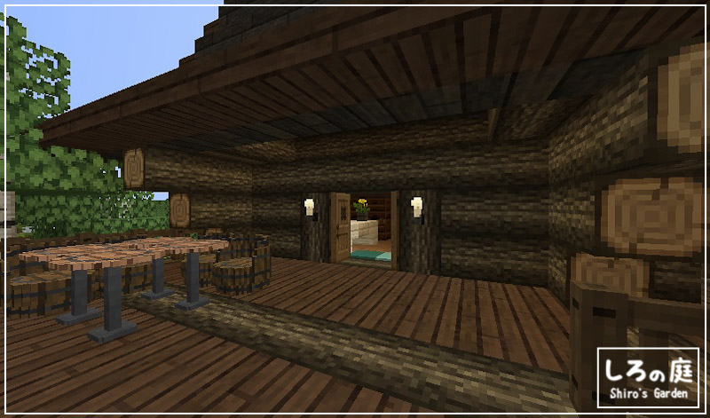 Minecraft,build,Logcabin