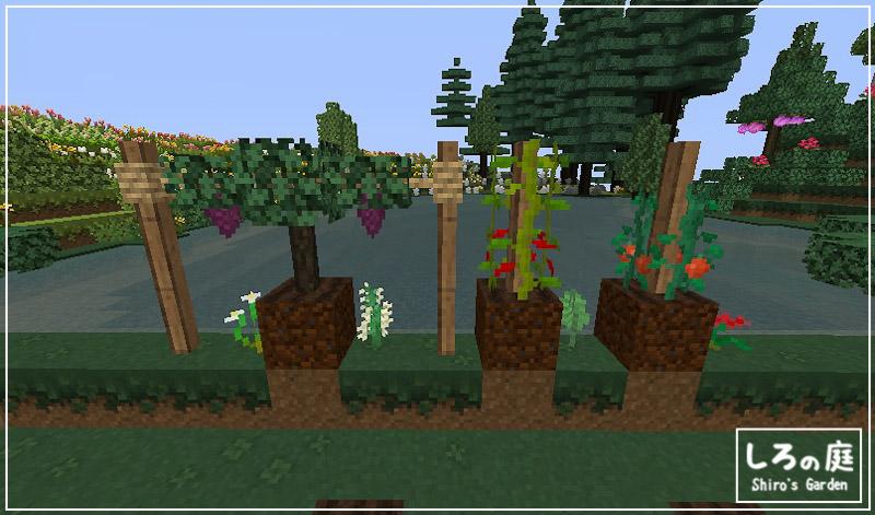 農場・牧場地区】新しいMOD導入して、植林場を建築! | しろの庭 しろが
